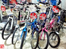 Discounted Bikes at SM City Sta Mesa 3-Day Sale Aug 15 2014