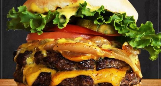 Teddy's Bigger Burger Monster Double Burger