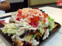 My salad at Wendys at SM City Sta Mesa