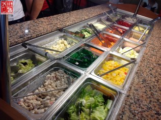 The Salad Bar at Wendys SM City Sta Mesa