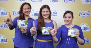 Breeze 1 Laba Day with Christine Bersola-Babao, Dimples Romana and Gladys Reyes