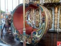 A Carousel seat at Sky Ranch Pampanga