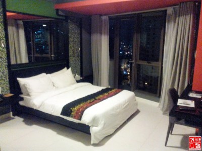 My bedroom at KL Tower Serviced Residences