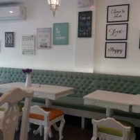Tables, chairs and decors of Plana's Pantry Quezon City