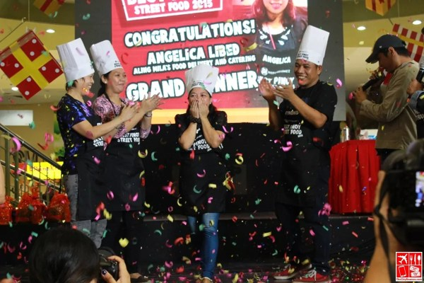 Angelica Libed of Aling Milas Food Delivery and Catering is the Best Pinoy Street Food 2015 Grand Winner