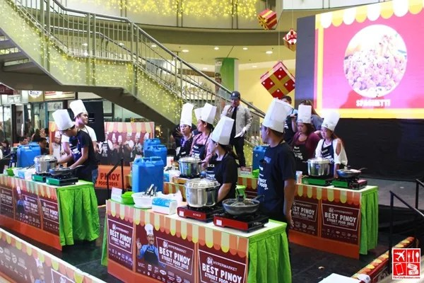 Cooking Area of the Best Pinoy Street Food 2015 Competition