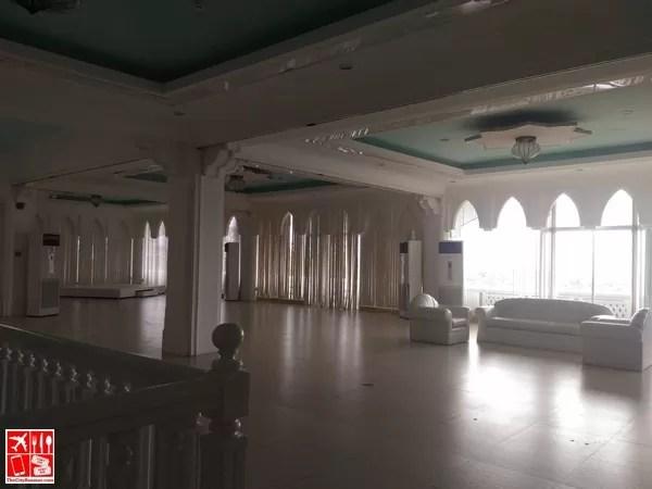 A huge function room at Estancia Resort Hotel Tagaytay