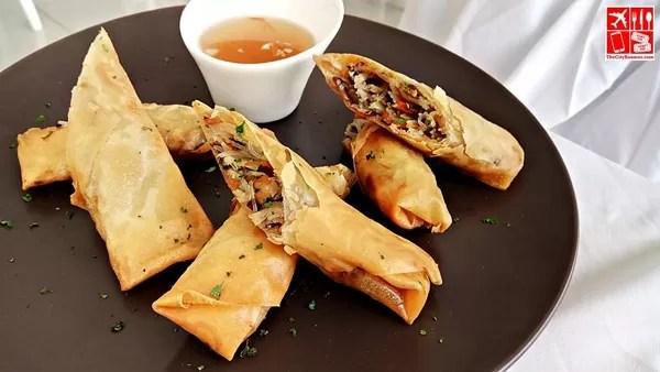 Fried Vietnamese Spring Rolls