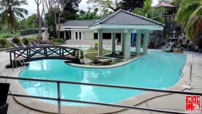 Outdoor pool at Estancia Resort Hotel Tagaytay