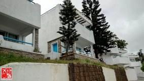 Santorini-inspired villas at Estancia Resort Hotel Tagaytay