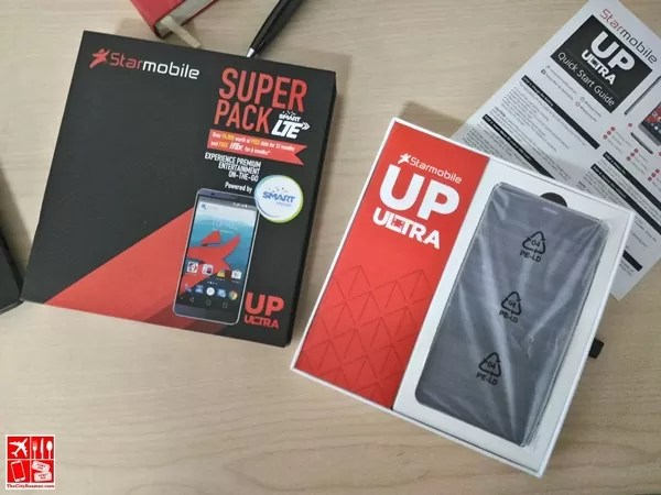 Starmobile UP Ultra unboxing
