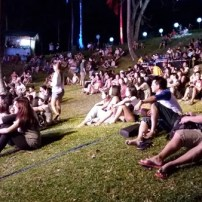 The audience at the Malasimbo Festival 2016