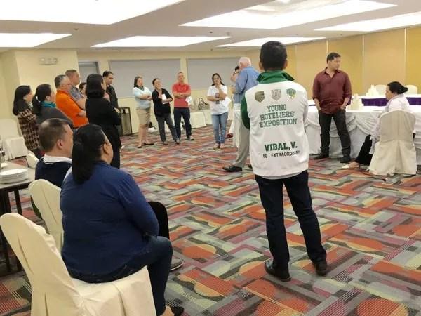 Certified Hospitality Educator workshop
