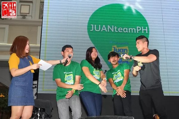 #JFFJuanTeamPH with adventure coach Robi Domingo