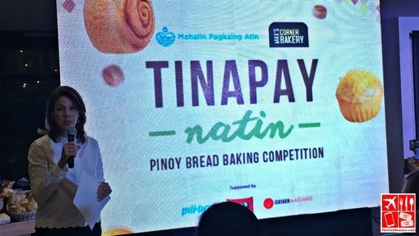 Max's Corner Bakery Director and President Ms Carolyn Trota-Salud at the Tinapay Natin PInoy Bread Baking Competition Press Launch