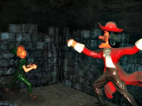 Peter Pan Attraction at Star City