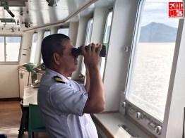 Sea Captain Bobby Montayre of 2Go Travel's M/V Saint Ignatius of Loyola