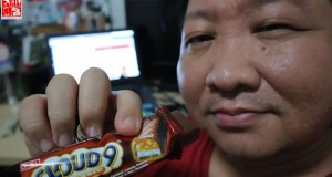 Celebrating my Cloud 9 Moment with my favorite chocolate bar