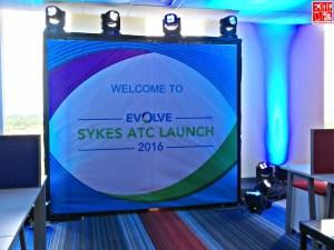 Evolve 2016 - Sykes ATC Launch banner