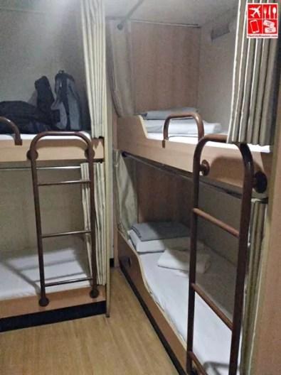 Inside our cabin in 2Go Travel's M/V Saint Ignatius of Loyola