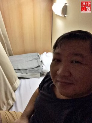 Privacy at my bed on board 2Go Travel's M/V Saint Ignatius of Loyola