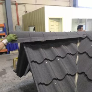 Molded Roofing Accessories being installed