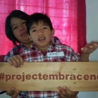 a parent and her son at the Sagada SPED Center