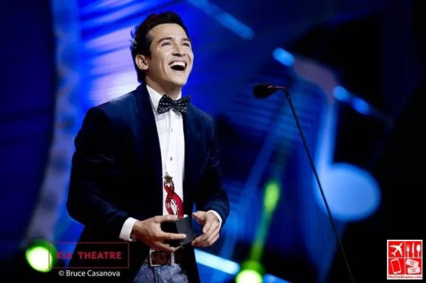 Edward Benosa won the Best New Male Artist at Star Awards for Music last year