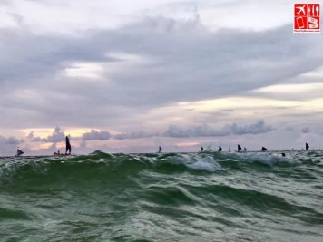 Big waves of Boracay
