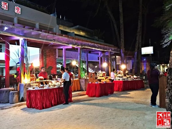 Crown Regency Beachfront Buffet