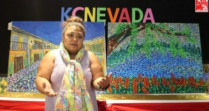 Filipino artist KC Nevada