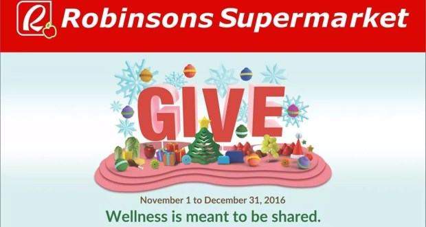 Robinsons Supermarket 'Give' Promo