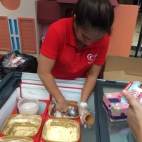 Selecta Ice Cream at Robinsons Supermarket Give Wellness Event