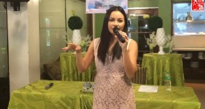 Sitti performs Bid You Love at the presscon