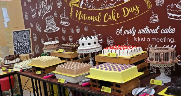 Cake Buffet at Goldilocks National Cake Day