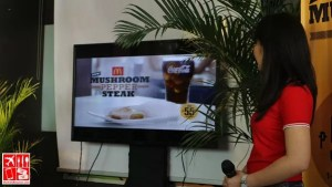 McDonald's Mushroom Pepper Steak launched to the media