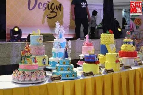 Cakes decorated by Goldilocks on display at the ICDC 2017