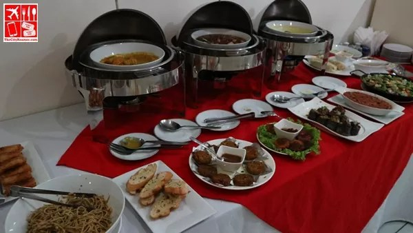 Buffet Spread at Live Life Vegetarian Restaurant