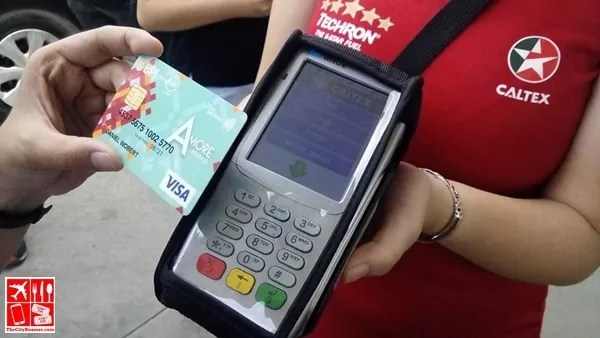 Just wave your Visa payWave at Caltex to purchase fuel