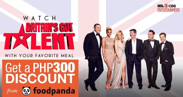 RTL-CBS Entertainment Britain's Got Talent Food Panda Treat
