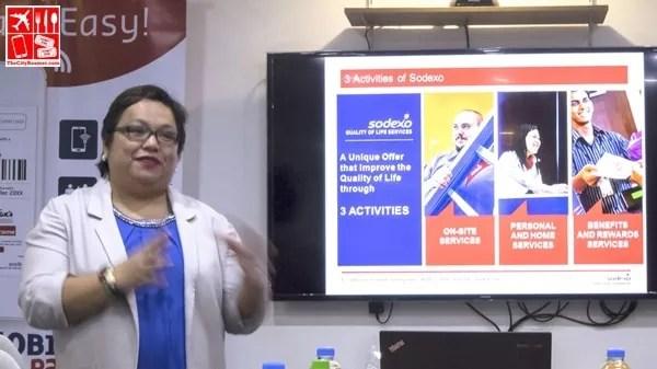 Sodexo Philippines Country Marketing Director Ann Saldaña