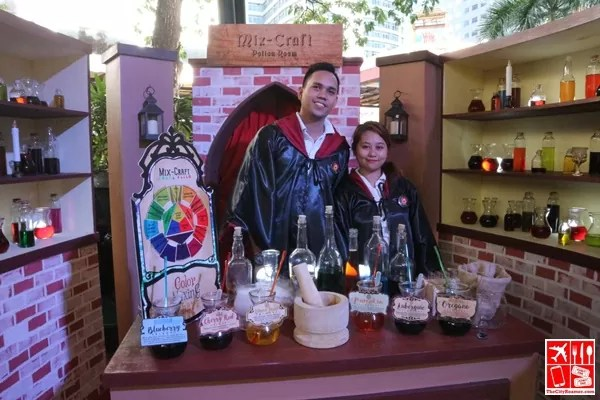 Potion Making at Robinsons Supermarket Learn Wellness event