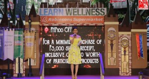 Bianca Valerio hosts the Robinsons Supermarkeet Learn Wellness event