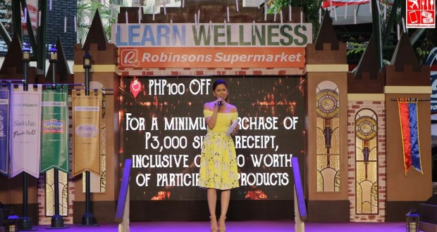 Robinsons Supermarket Learn Wellness Campaign