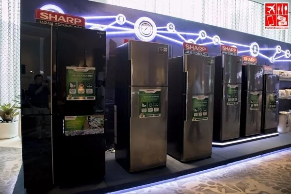 Sharp Refrigerators at the Sharp Product Launch 2017