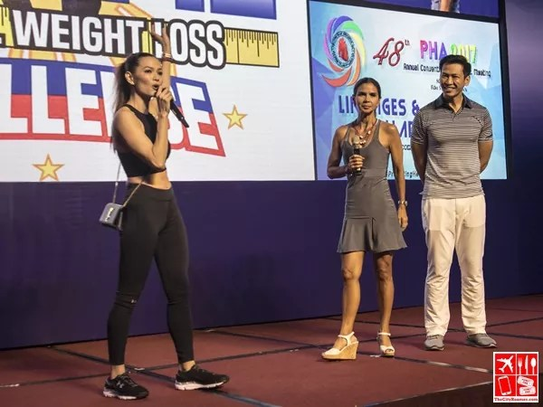 Former tennis player and ABS-CBN sports reporter Dyan Castillejo joined Coaches Jim and Toni
