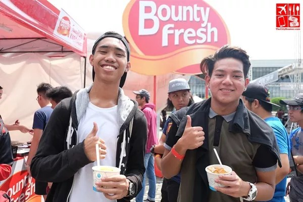 These guys gave Bounty Fresh Saucy Tori Karaage a thumbs up