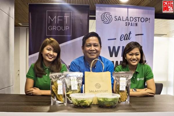 MFT Executives - Regional Marketing Head Joanne Atienza-Cabaero-COO Dr Erik Tan-CEO Mica F Tan