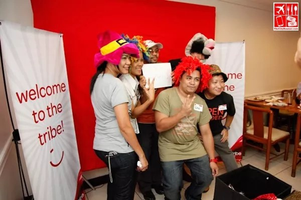 Photobooth with bloggers at a WiTribe event