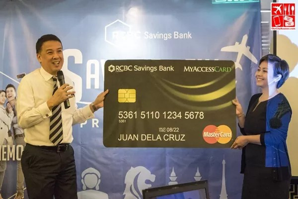 The RCBC Savings Bank Mastercard Debit Card was also unveiled